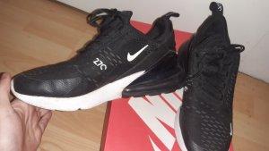 Nike Sneaker alta bianco-nero