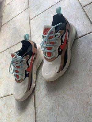 Nike Air Max Sneakresy na obcasie Wielokolorowy