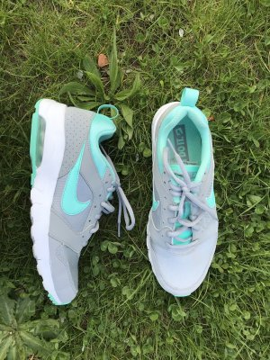 Nike Zapatilla brogue gris claro-turquesa