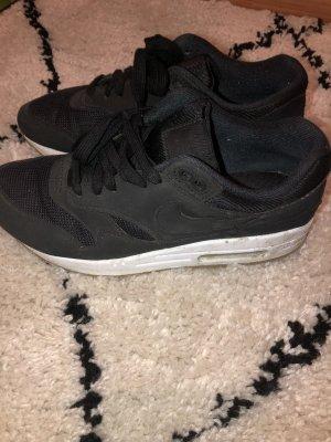 Nike Wysokie trampki biały-czarny