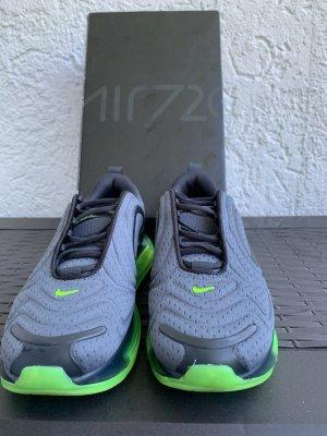 Nike Slip-on Sneakers dark grey-neon green