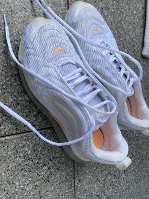 Nike Sneakresy na obcasie biały-pomarańczowy