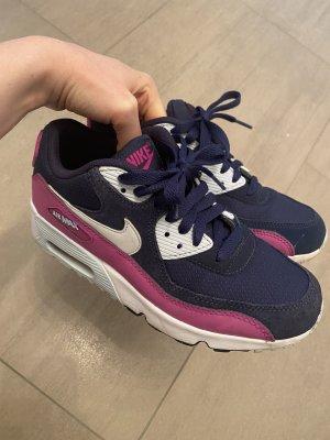Nike Sneakers met veters donkerblauw-violet