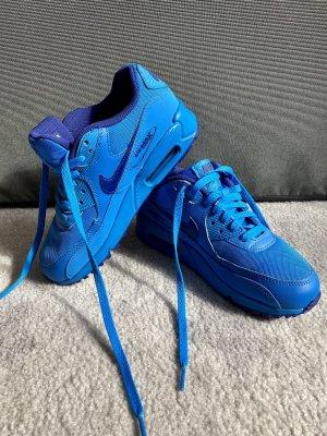 Nike Air Max 90 Colorblock blau Größe 36,5