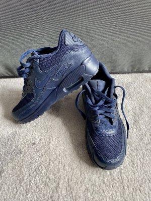 Nike Air Max 90 dunkelblau marineblau Größe 36,5