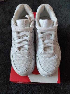 Nike Air Max 90 Mesh White, inkl Karton, super Zustand, Gr.36,5, Neuwertig