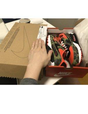 Nike Basket à lacet multicolore