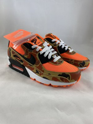Nike Air Max 90 SP Duck Camo Orange Black US 7 EU 40