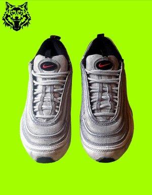 Nike Wysokie trampki srebrny