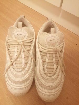 Nike Air Max Zapatillas con hook-and-loop fastener blanco