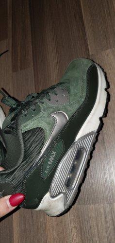Nike Zapatillas altas gris verdoso
