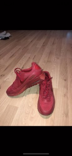 Nike Air Max all red