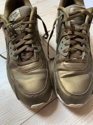 Nike Sneaker stringata marrone-grigio-bronzo