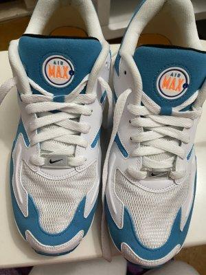 Nike air max Blau Weiß