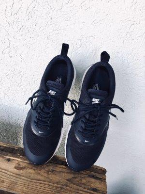 Nike Lace-Up Sneaker dark blue-blue