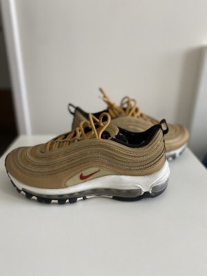 Nike Lace-Up Sneaker gold-colored