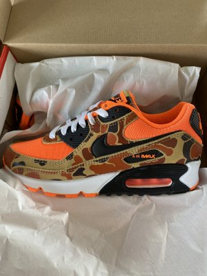 Nike Air Max Orange Duck Camo