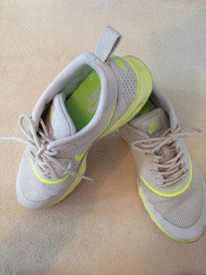 Nike Air Max Thea, grau und neongelb, Größe 38