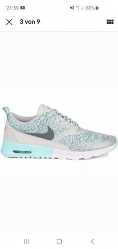 Nike Air Max Thea Light Grey Gr.40/39 grau blau