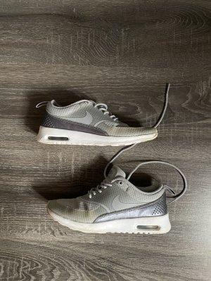 nike air max thea silber metallic grau 35,5 sneaker turnschuhe