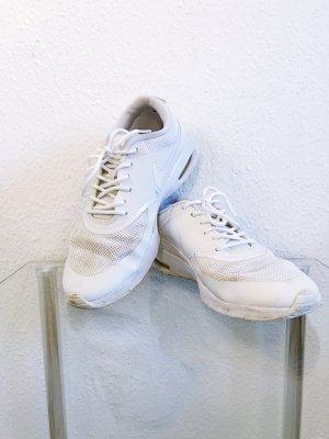 Nike Basket à lacet blanc coton