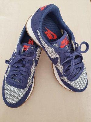 Nike Zapatilla brogue blanco-azul