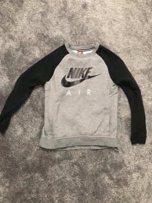 Nike Sweatshirt zwart-grijs