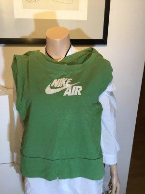 Nike air Pullover L 40 grün Sweater Damen