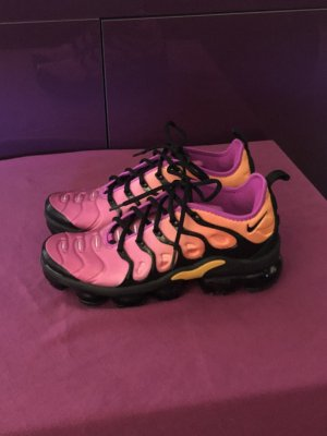 Nike Air Vapormax Pink Orange Schwarz Gr. 39 Special.