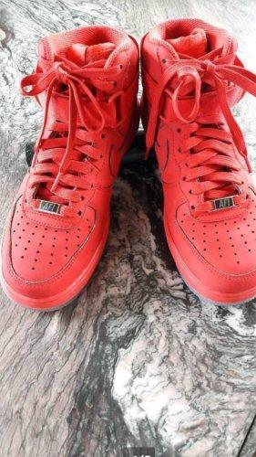 Nike High top sneaker rood