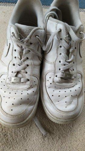 Nike Airforce 1,weiß,  Größe 39, Gebrauchsspuren