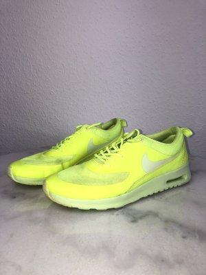 Nike Airmax Thea Sneaker Schuhe Neongelb Marke Turnschuhe