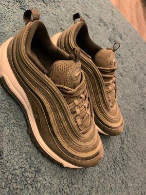 Nike Lace-Up Sneaker olive green-khaki