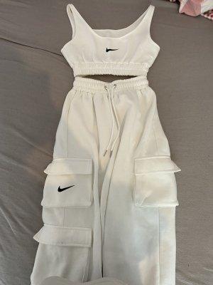 Nike Basic topje wit-zwart