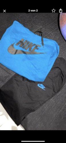 Nike Woven Twin Set black-neon blue