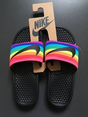 Nike Badelatschen bunt Größe 36