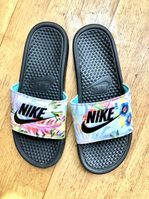 Nike Chaussons de bain multicolore