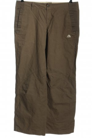 Nike Pantalone largo marrone stile casual
