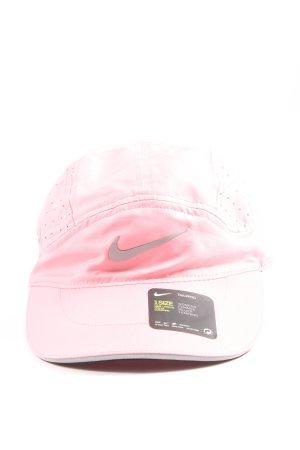 Nike Cappello da panettiere rosa stile casual