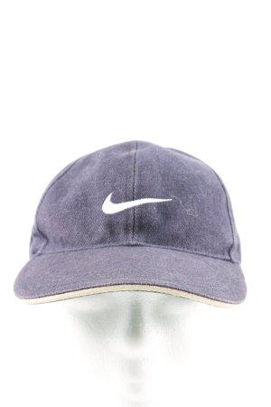 Nike Basecap blau-weiß Casual-Look