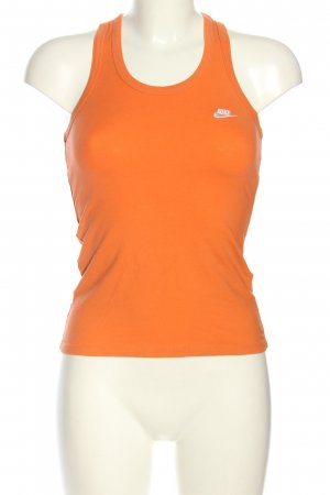 Nike Basic Top hellorange Casual-Look