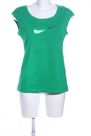 Nike Basic Top grün Casual-Look