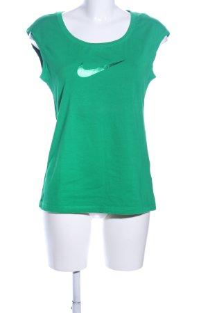Nike Basic Top grün Casual-Look
