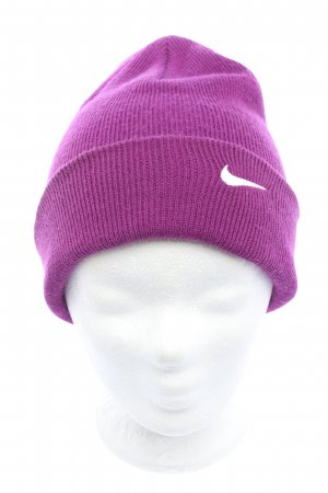Nike Beanie lila Casual-Look