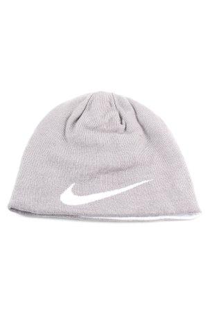 Nike Bonnet gris clair style décontracté