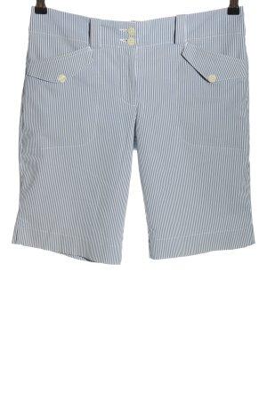Nike Bermuda blu-bianco motivo a righe stile casual