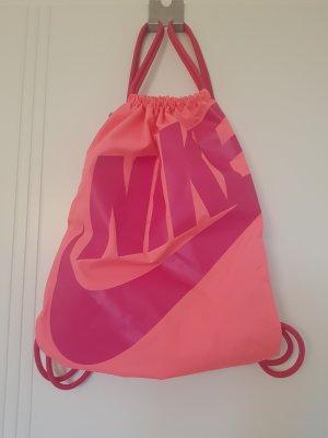 Nike Bolso tipo marsupio rosa neón