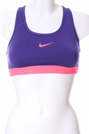 Nike Bra lilac-pink athletic style