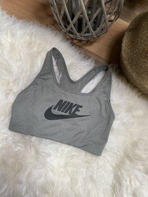 Nike BH Dri-Fit Grau Schwarz