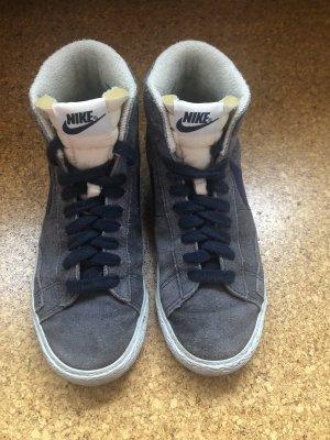 Nike Blazer High Vintage Größe 38 lila/blau